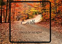 Earth creates metal (deposits in earth)