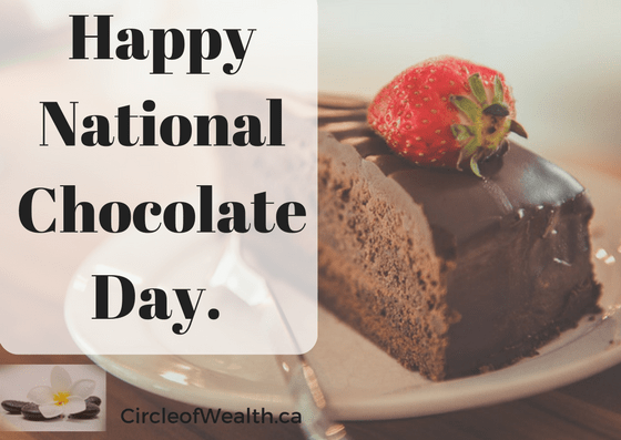 Circleof Wealth National Chocolate DayCake!