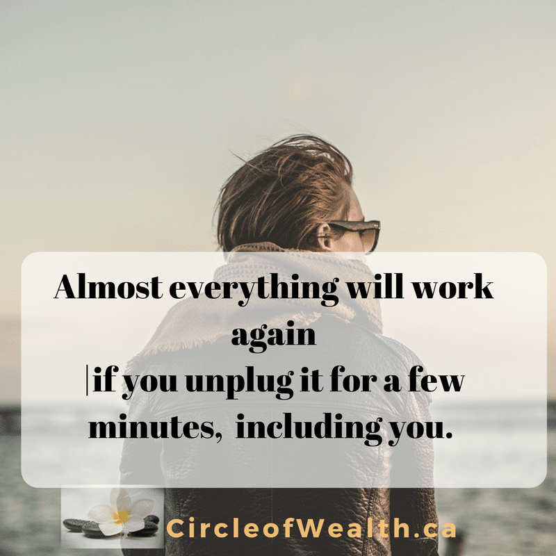 everything will work again unplug